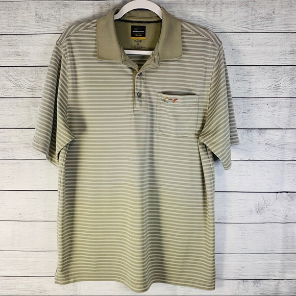 Greg Norman for Tasso Elba Golf Polo Medium